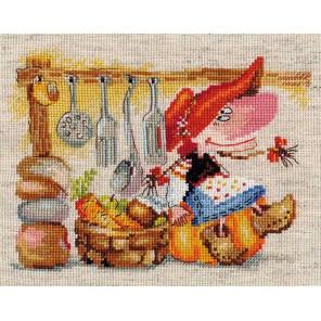 Овощная кладовушка Набор для вышивания Алиса
