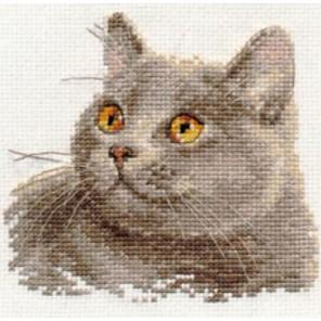 Британский кот Набор для вышивания Алиса