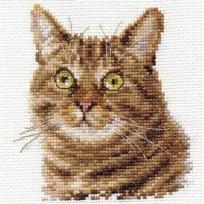 Европейский кот Набор для вышивания Алиса