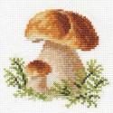 Белые грибы Набор для вышивания Алиса