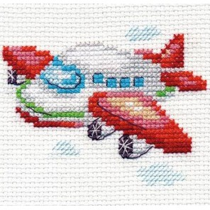 Самолетик Набор для вышивания Алиса