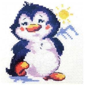 Пингвиненок Набор для вышивания Алиса