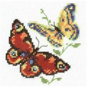Бабочки-красавицы Набор для вышивания Алиса