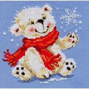 Белый медвежонок Набор для вышивания Алиса