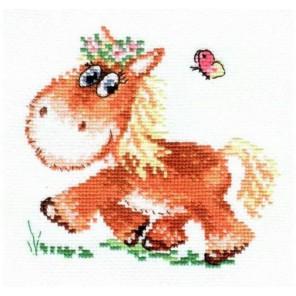 Лошадка Набор для вышивания Алиса