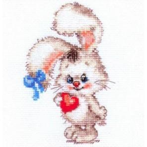 Моей зайке Набор для вышивания Алиса