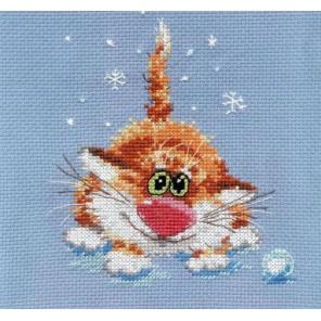 Первый снег Набор для вышивания Алиса