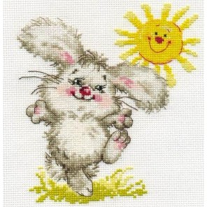 Самый солнечный день! Набор для вышивания Алиса