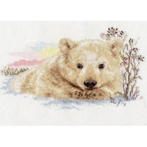 Северный медвежонок Набор для вышивания Алиса