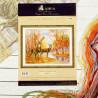Упаковка Олени в осеннем лесу Набор для вышивания Алиса