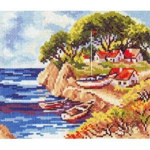 Рыбацкий островок Набор для вышивания Алиса