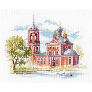 Переславль-Залесский. Сорокосвятская церковь Набор для вышивания Алиса