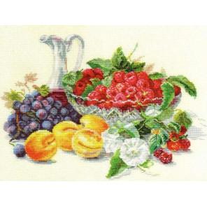 Абрикосы и малина Набор для вышивания Алиса