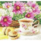 Утренний чай Набор для вышивания Алиса