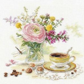 Утренний кофе Набор для вышивания Алиса