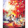 Босоногая прогулка Раскраска картина по номерам акриловыми красками на холсте