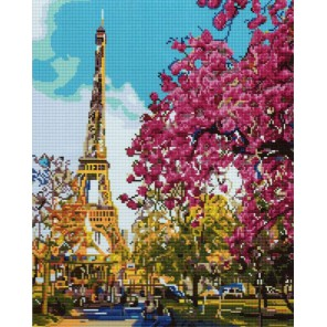 Летний Париж Алмазная мозаика вышивка Painting Diamond