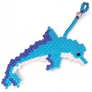 Брелок Дельфин Набор для бисероплетения Кроше