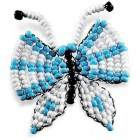 Игрушка Бабочка Набор для бисероплетения Кроше