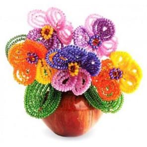 Цветы Дыхание весны Набор для бисероплетения Кроше
