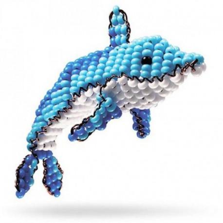 Игрушка Дельфин Набор для бисероплетения Кроше