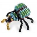 Игрушка Майский жук Набор для бисероплетения Кроше