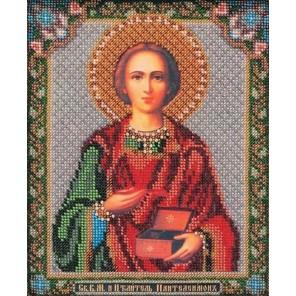 Святой Пантелеймон Набор для вышивки бисером Кроше