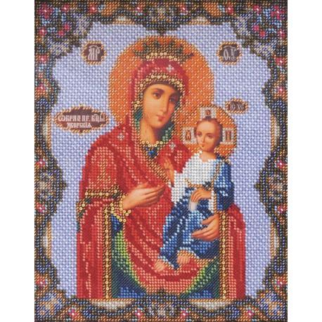 Иверская Богородица Набор для вышивки бисером Кроше