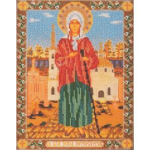 Святая Ксения Петербургская Набор для вышивки бисером Кроше