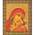 Касперовская Богородица Набор для вышивки бисером Кроше