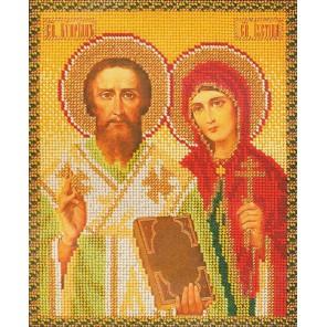 Святые Куприян и Устинья Набор для вышивки бисером Кроше