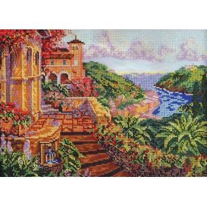 Райский уголок Набор для вышивки бисером Кроше