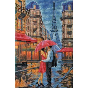 Двое. Париж Набор для вышивки бисером Кроше