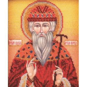 Святой Вадим Набор для вышивки бисером Кроше
