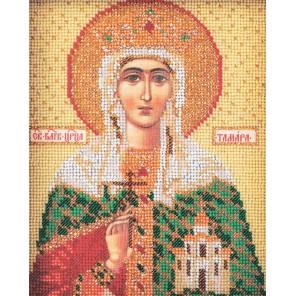 Святая Тамара Набор для вышивки бисером Кроше