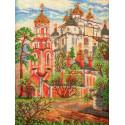 Сретенская церковь Набор для вышивки бисером Кроше