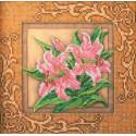 Благоухающие лилии Набор для вышивки бисером Кроше