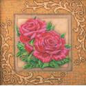 Роскошные розы Набор для вышивки бисером Кроше