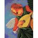 Музицирующий ангел. Терцо Набор для вышивки бисером Кроше