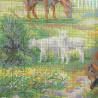 Схема вышивки Деревенский полдень Набор для вышивания Риолис