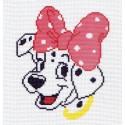 Моника Ткань с рисунком Матренин посад