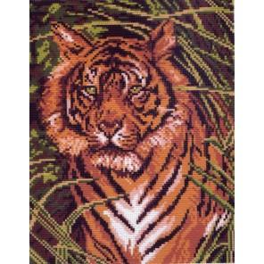 Тигр Ткань с рисунком Матренин посад