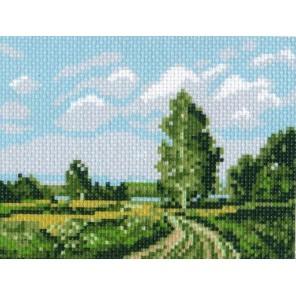 Русское поле Ткань с рисунком Матренин посад
