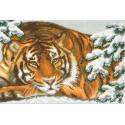Амурский тигр Ткань с рисунком Матренин посад