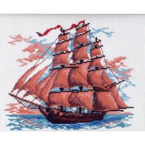 Алые паруса Ткань с рисунком Матренин посад
