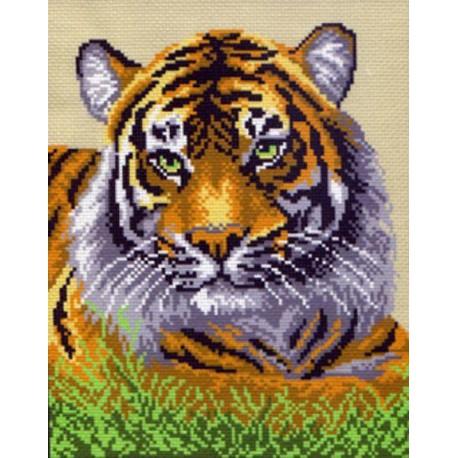 Туранский тигр Ткань с рисунком Матренин посад