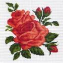 Розы Ткань с рисунком Матренин посад