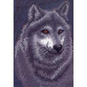 Волк Ткань с рисунком Матренин посад
