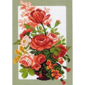 Цветочные фантазии Ткань с рисунком Матренин посад