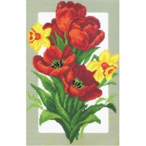 Майский букет Ткань с рисунком Матренин посад